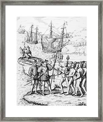 Christopher Columbus (1451-1506) Framed Print
