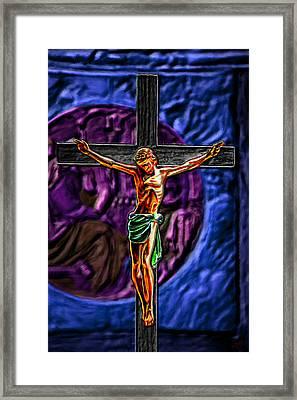 Christs Crucifixion  Framed Print