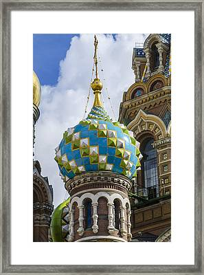 Church Of The Spilled Blood - St. Petersburg Russia Framed Print