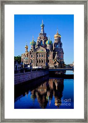 Church Of The Spilt Blood Framed Print by Shirley Mangini