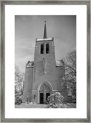 Church Framed Print by Thomas Fouch