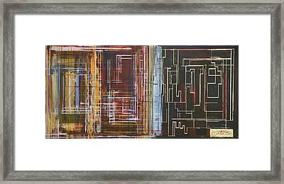 Circuit City Framed Print