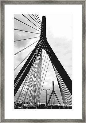 city of Boston Framed Print
