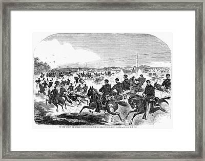 Civil War Yorktown, 1862 Framed Print by Granger