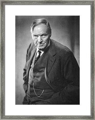 Clarence Darrow (1857-1938) Framed Print by Granger