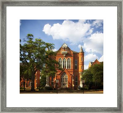 Clark Hall - University Of Alabama Framed Print