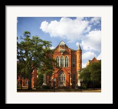 Alabama Campus Framed Prints