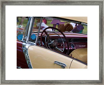 Framed Print featuring the photograph Classic American Car by Mick Flynn