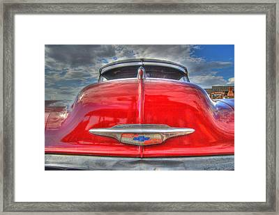 Classic Chevy Framed Print by Tam Ryan