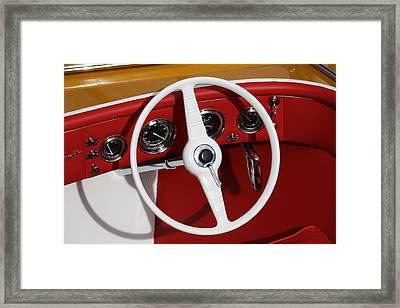 Classic Speedboats Framed Print