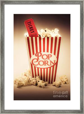 Classic Vintage Cinema Framed Print by Jorgo Photography - Wall Art Gallery