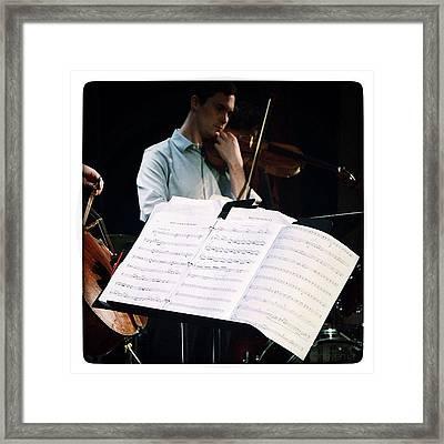 Classical Jam Www.classicaljam.org Framed Print
