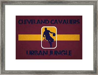 Cleveland Cavaliers Framed Print by Joe Hamilton