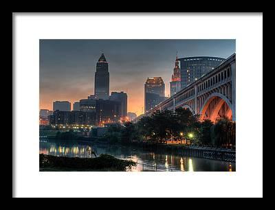 Cleveland Bridge Art Fine Art America