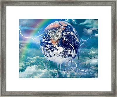 Climate Change Framed Print by Robert Orinski