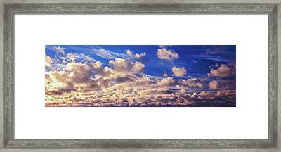Clouds In The Sky Framed Print by Panoramic Images