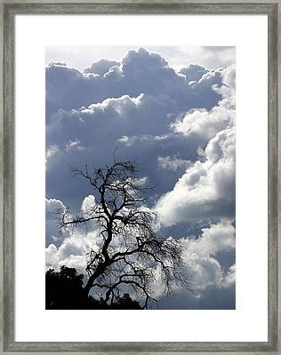 Cloudscape Framed Print by Ron Romanosky