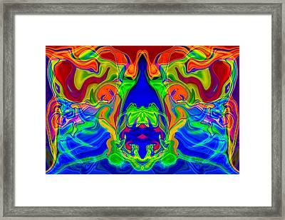 Clowning Around Framed Print by Omaste Witkowski