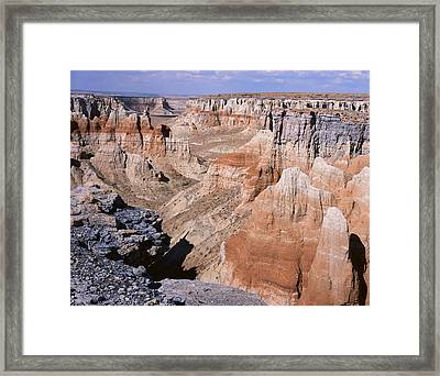 Coal Mine Canyon 1 Framed Print