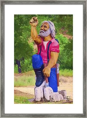 Coarsegold Miner Framed Print