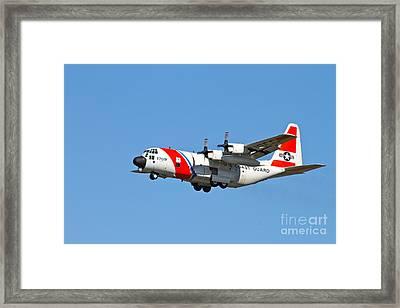Coast Guard Alaska Framed Print by Rick  Monyahan