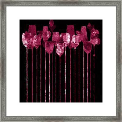 Cocktail Hour 3 Version 2 Framed Print by Angelina Vick