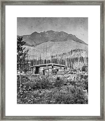Framed Print featuring the photograph Colorado Miners by Granger