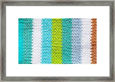 Colorful Wool Framed Print