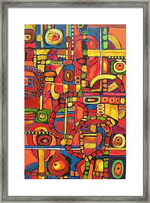 Coloroso # 7--sold Framed Print