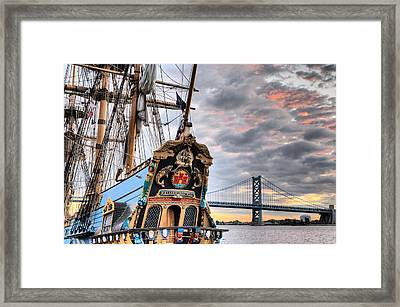 Colors Framed Print by JC Findley