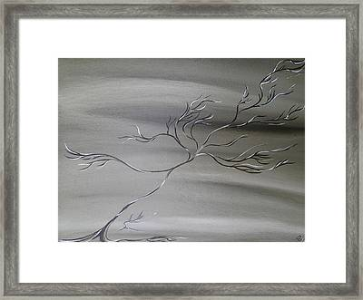 2 Colors Framed Print