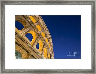 Colosseum Framed Print by Mats Silvan