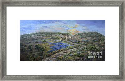 Comanche Peak Framed Print