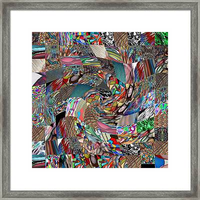 #2 Combination Series Framed Print