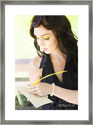 Communication Framed Print by Jorgo Photography - Wall Art Gallery