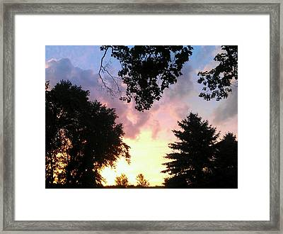 Communion Framed Print by Dawn Vagts