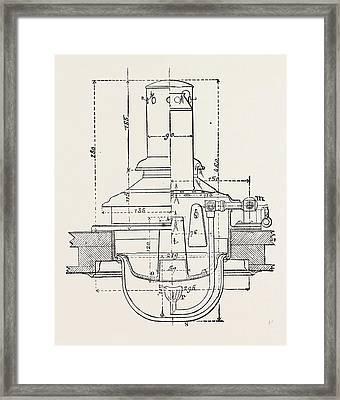 Compressed Oil Gas For Lighting Cars, Steamboats Framed Print by English School