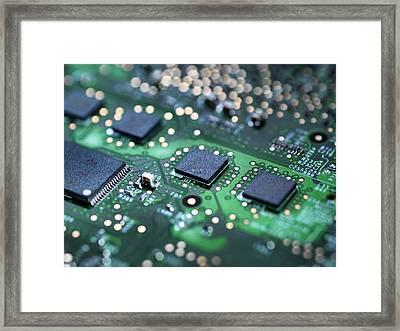 Computer Hardware Framed Print by Tek Image