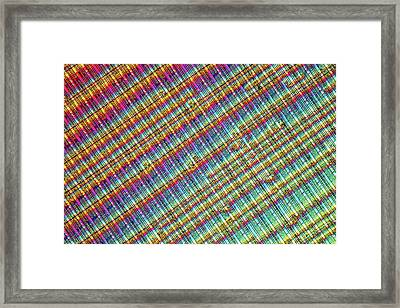 Computer Memory Chip Framed Print