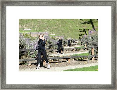 Framed Print featuring the photograph Concern by Nick David