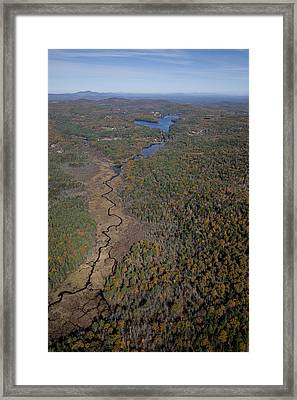 Concord Outskirts, New Hampshire Framed Print by Dave Cleaveland