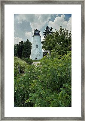 Concord Point Lighthouse Framed Print