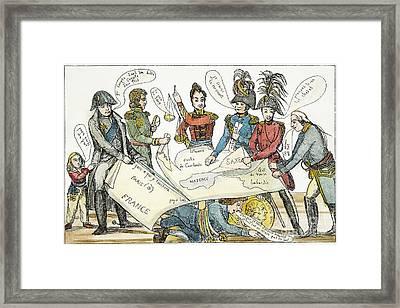 Congress Of Vienna 1815 Framed Print