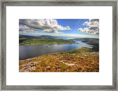 Connemara View Framed Print