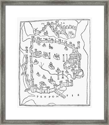 Constantinople, 1422 Framed Print by Granger