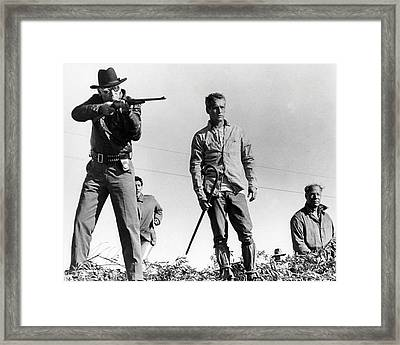 Cool Hand Luke  Framed Print by Silver Screen