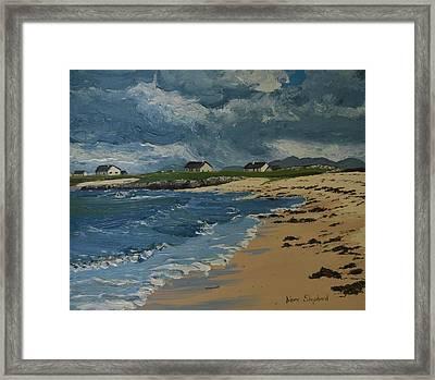 Coral Strand Connemara Ireland Framed Print