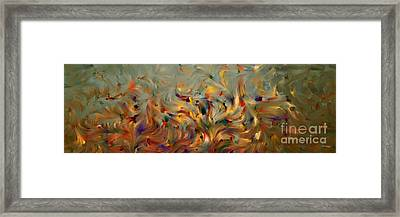 2 Corinthians 5 7. Faith- Not Emotion Framed Print by Mark Lawrence