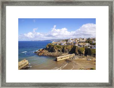 Cornwall - Port Isaac Framed Print by Joana Kruse