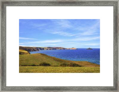Cornwall - Rumps Point Framed Print by Joana Kruse